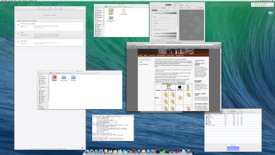 OSX Mavericks at 3840x2160